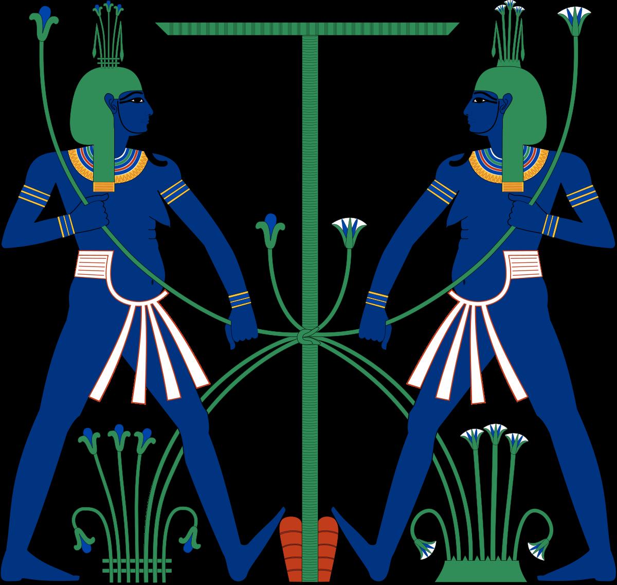 Nile River clipart nyle  Hapi (Nile Wikipedia god)