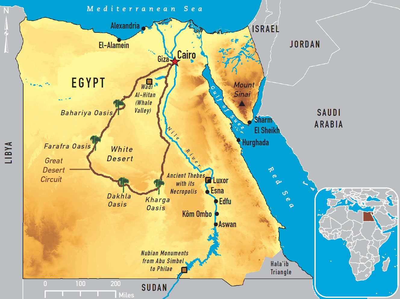 Nile River clipart physical map Of Chapter 4 The End
