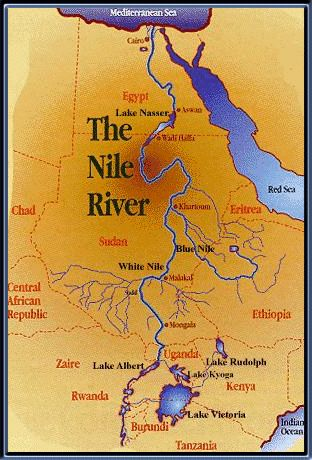 Nile River clipart physical map 48 one of best Egypt