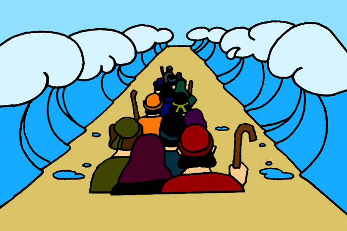 Nile River clipart red sea Crossing the Sea Mission Red