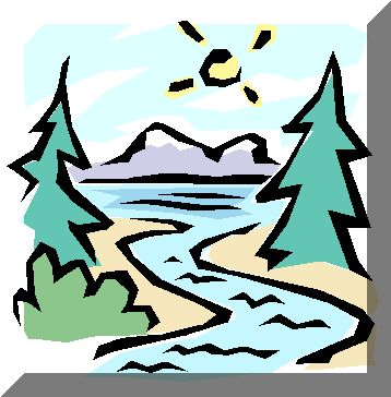 Nile River clipart river background Clipart Mountain with art earthrners