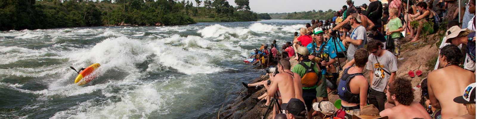 Nile River clipart uganda Festival River Nile Kayak the