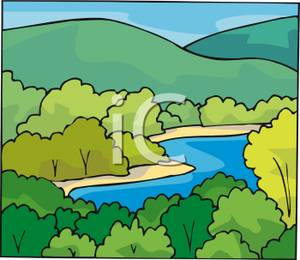 Nile River clipart winding river River Clip River Art Art