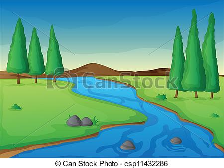 Nile River clipart winding river 645 nature river a a