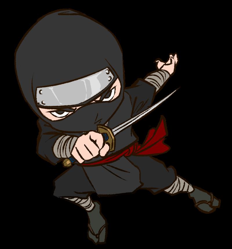 Ninja clipart Use Domain Free & Art