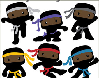 Ninja clipart And Cute Weapons Clipart Ninjas