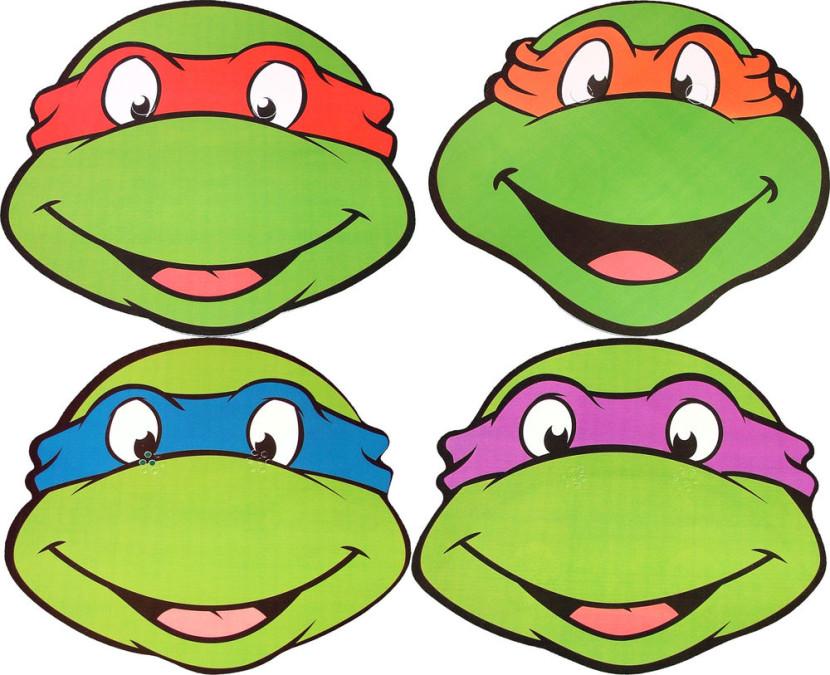 Ninja Turtles clipart Best Faces Ninja Clip Clipart