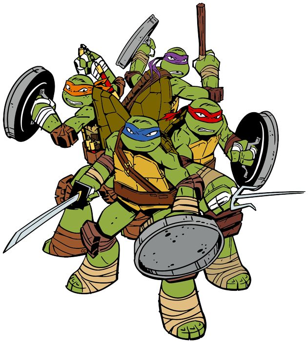 Ninja Turtles clipart Clip Teenage Art Cartoon Turtles