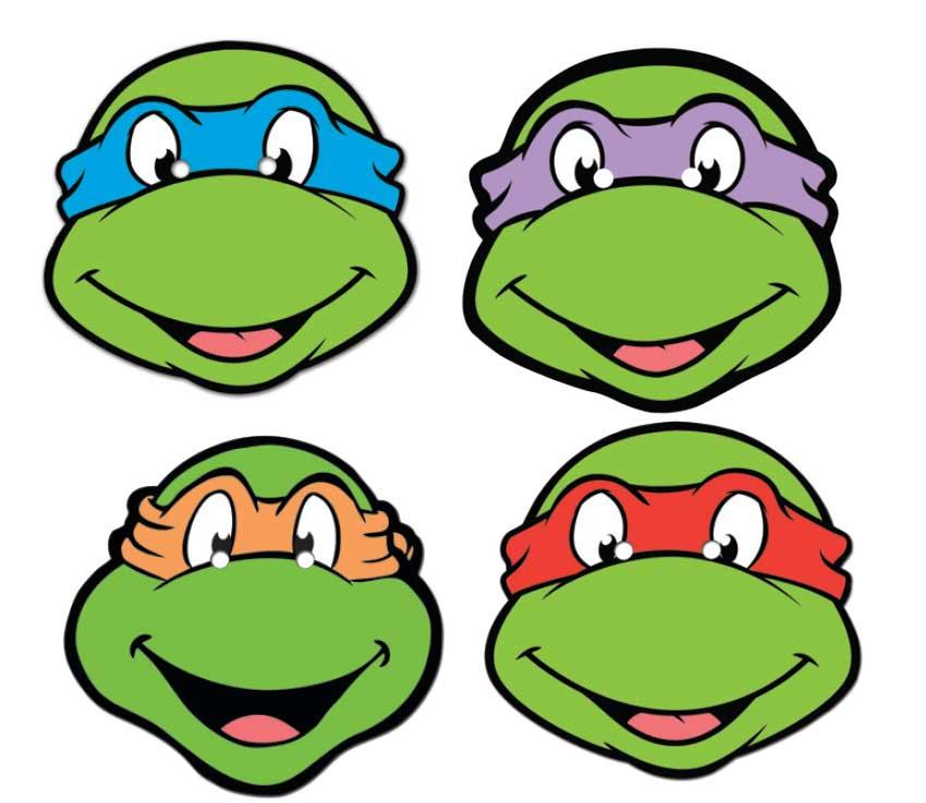 Mask clipart teenage mutant ninja turtle Mutant 4 Mutant Turtles turtle