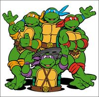 Ninja Turtles clipart animated The The Many Turtles of