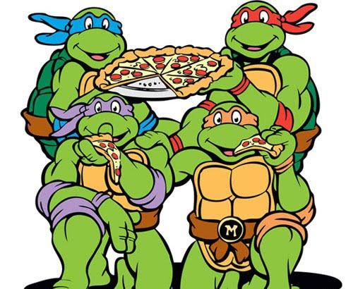 Ninja Turtles clipart animated Cartoon Part 2: 1987 TMNT