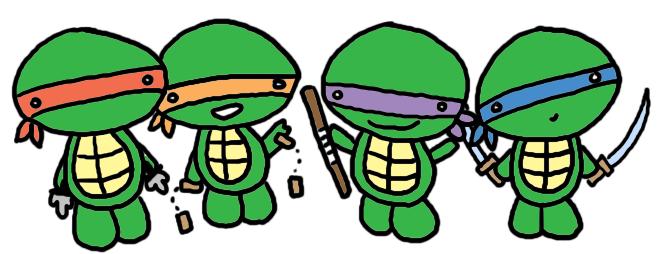 Ninja Turtles clipart animated Mutant cartoon Google cartoon teenage