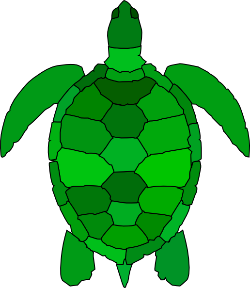 Turtle clipart pattern #1