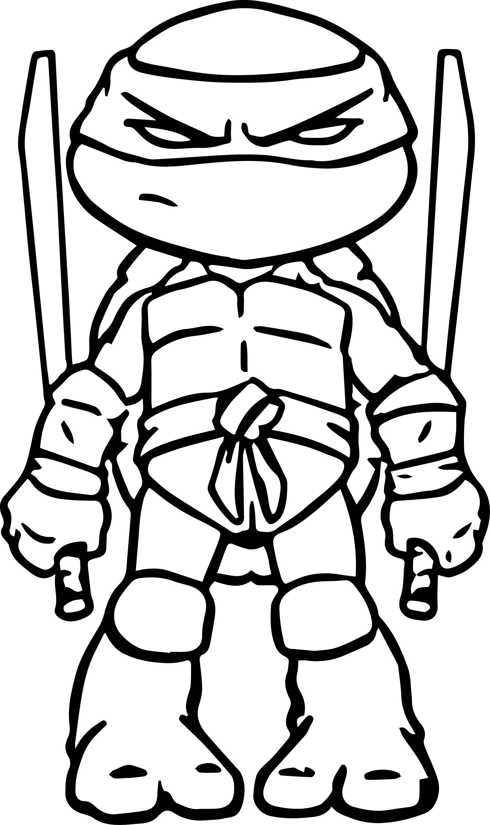 Ninja Turtles clipart black and white Page Ninja Coloring Ninja Turtles
