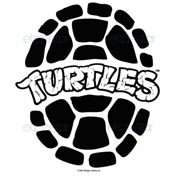 Ninja Turtles clipart black and white Teenage black turtle  and