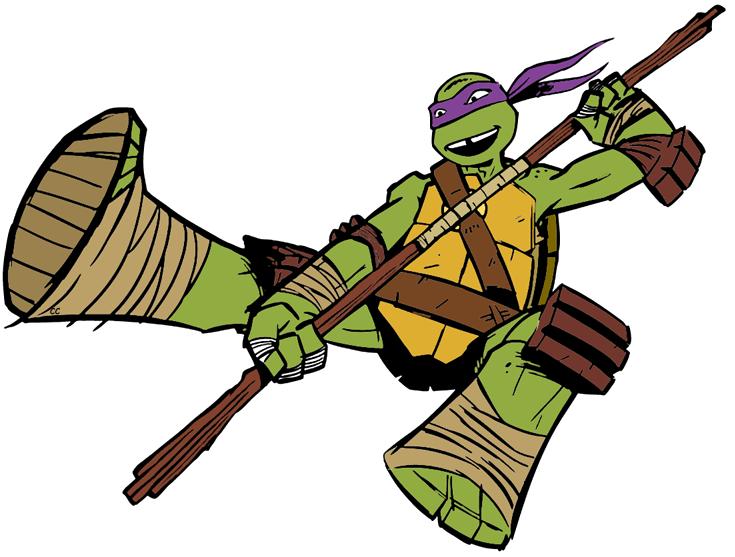 Ninja Turtles clipart cartoon Pizza Turtles Donatello Leonardo