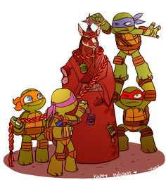 Ninja Turtles clipart christmas Raphael WILL Baby have to