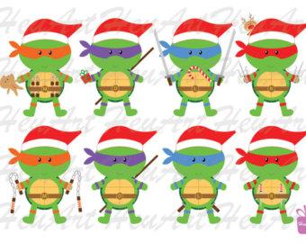 Ninja Turtles clipart christmas Turtle Cute Ninja Cute Clipart
