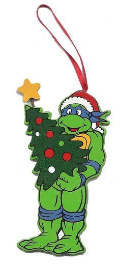 Ninja Turtles clipart christmas Mutant MUTANT Vintage Leonardo ORNAMENT