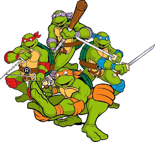 Ninja Turtles clipart classic TMNT by Teenage Saiyan Turtles