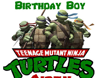 Ninja Turtles clipart happy birthday Teenage On Mutant Sew TMNT