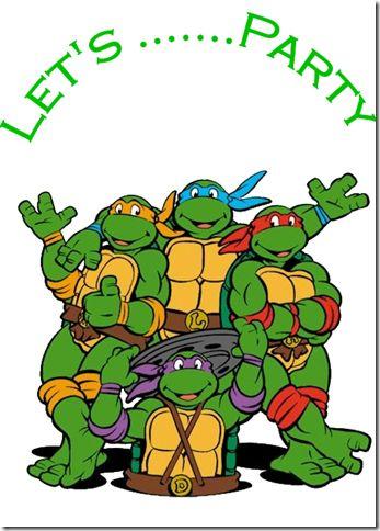 Ninja Turtles clipart happy birthday Mutant Ninja Pin Teenage Find