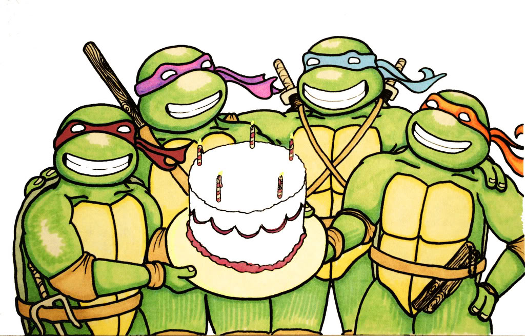 Ninja Turtles clipart happy birthday Topic Dude! Happy skapunkninja ::