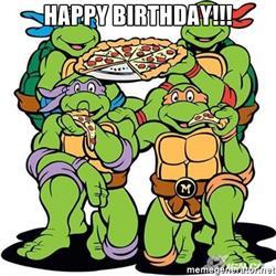 Ninja Turtles clipart happy birthday Ninja birthday Mutant Mutant Birthday