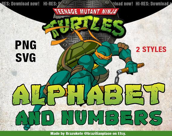 Ninja Turtles clipart high resolution SALE and Mutant Cutting Teenage
