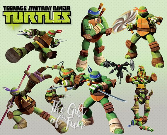 Ninja Turtles clipart high resolution 30 by Turtles / Ninja