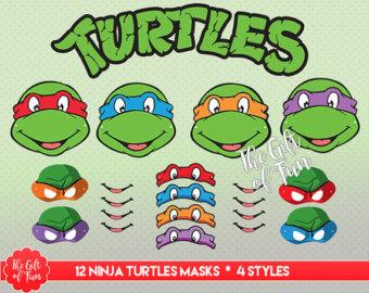 Ninja Turtles clipart high resolution Ninja Printable Masks turtle Turtles