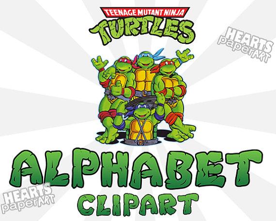 Ninja Turtles clipart high resolution Ninja by Alphabet Turtles