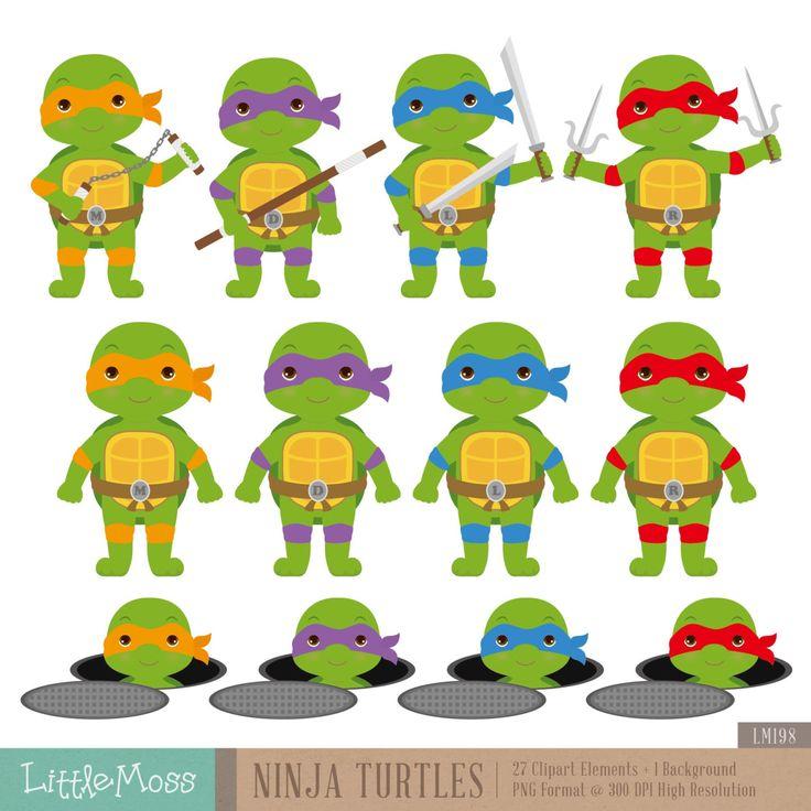 Ninja Turtles clipart high resolution Ninja Teenage Digital Turtles Pinterest