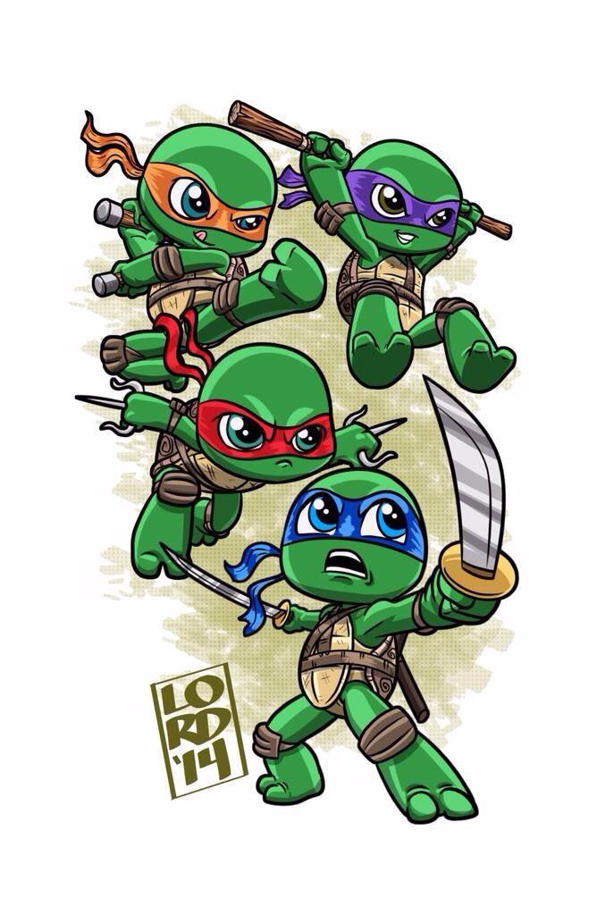 Ninja Turtles clipart kawaii Ninja turtles ideas Mesa 20+