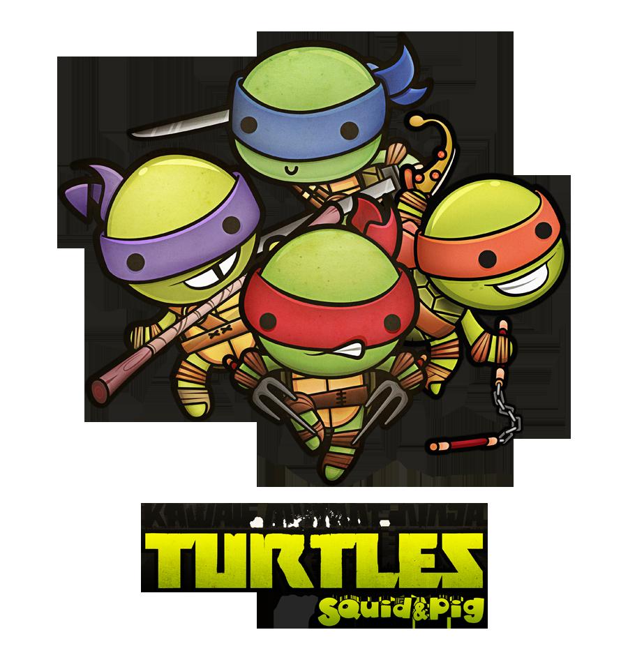 Ninja Turtles clipart kawaii Milo 120 Ninja (900×936) de