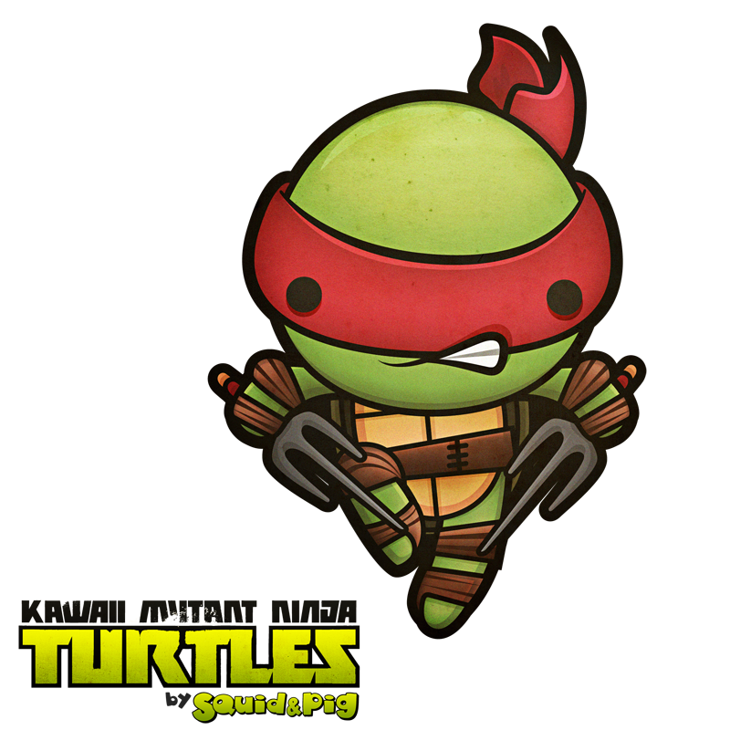 Ninja Turtles clipart kawaii SquidPig deviantart on com Ninja