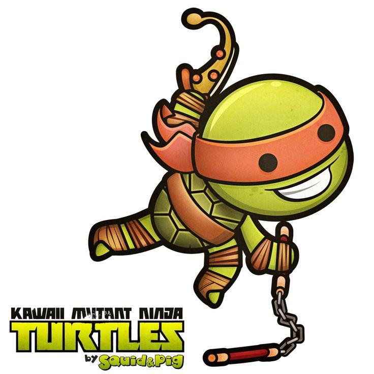 Ninja Turtles clipart kawaii Best images Print Google 42