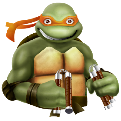 Turtle clipart michelangelo Ninja Mutant Art Michelangelo Turtles