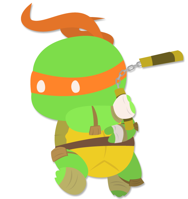 Ninja Turtles clipart mikey Robo by Mikey Mikey DeviantArt