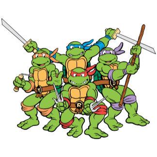 Ninja Turtles clipart old school View Ninja Enemies Mutant Vine