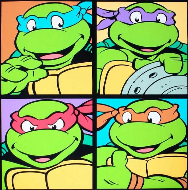 Ninja Turtles clipart old school Old TMNT school Pinterest school