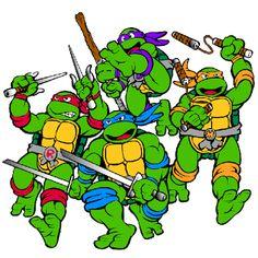 Ninja Turtles clipart old school Ninja Ninja Teenage Turtles Leonardo