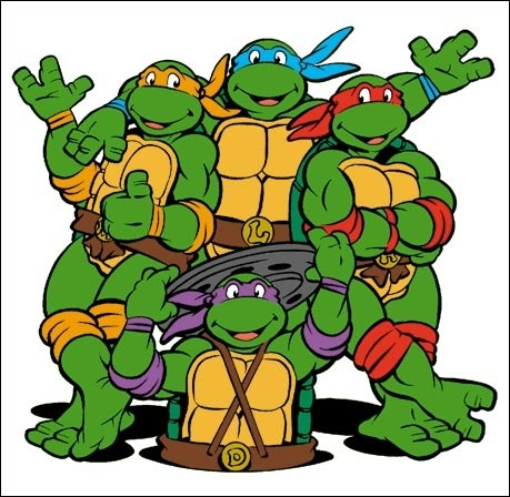 Ninja Turtles clipart old school Anthropomorphic The the are What