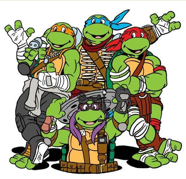 Ninja Turtles clipart old school Ninja Find images Teenage Ninja
