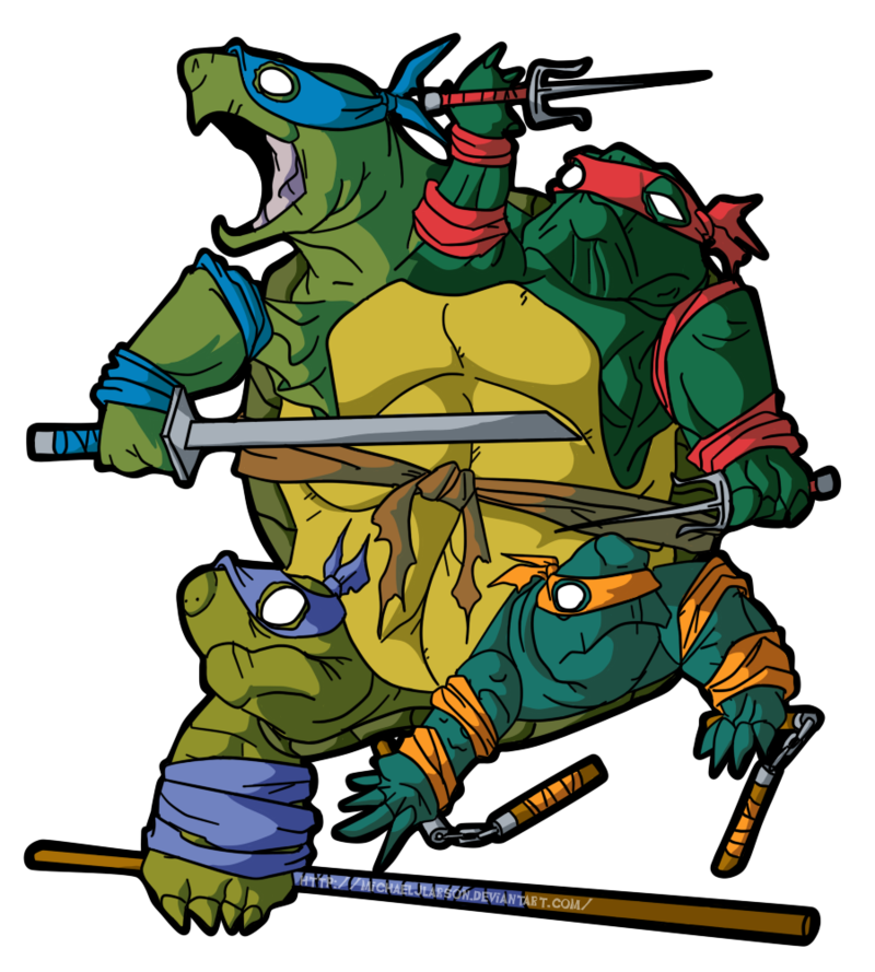 Ninja Turtles clipart original Know Your 781287] png Meme
