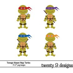 Ninja Turtles clipart original Ninja Mutant Twenty9Designs T Turtles