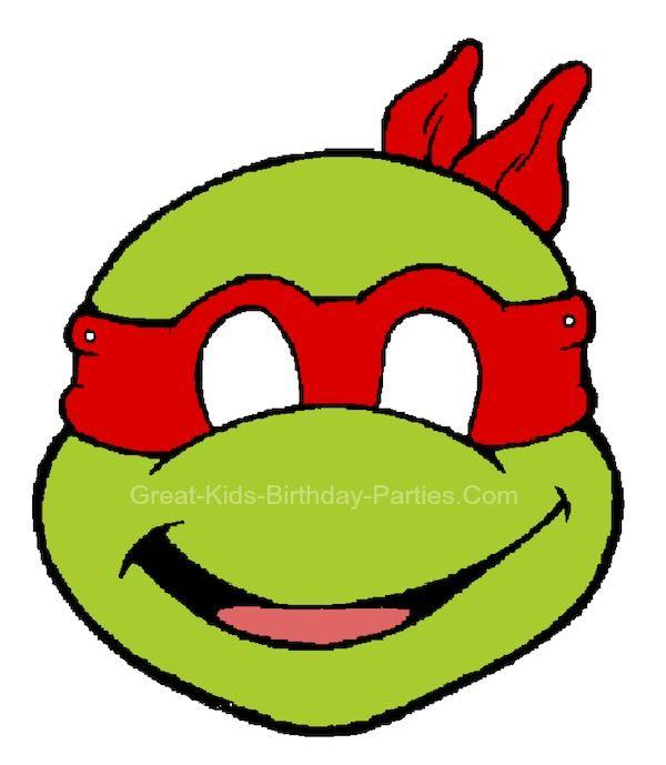 Ninja Turtles clipart outline Masks mask Printable Ninja Free