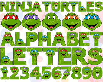 Ninja Turtles clipart printable And Turtles Birthday Ninja Decorations