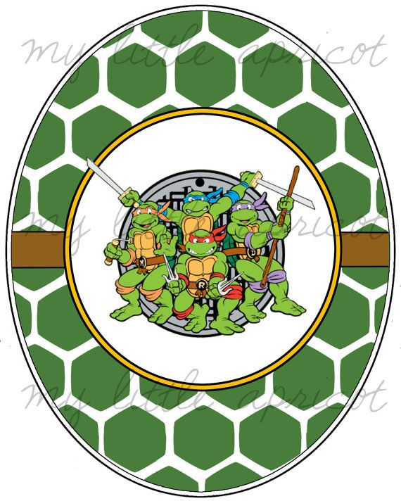 Ninja Turtles clipart printable Tuck 480 in best of