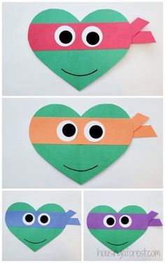 Ninja Turtles clipart st valentine Heart for for ~ Turtles